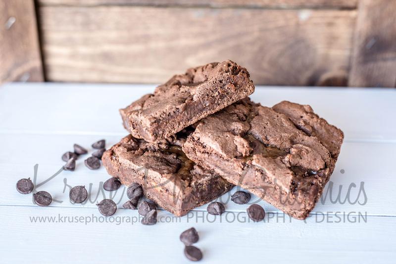 Carmel Chocolate Chip Brownies